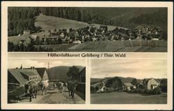 116050: Deutschland Ost, Plz Gebiet O-60, 605- 606 Suhl Land