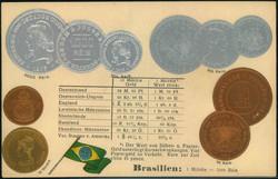 1935: Brasilien - Postkarten