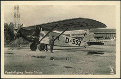441016: Luftfahrt, Militärische Flugzeuge bis WK-II, Dornier