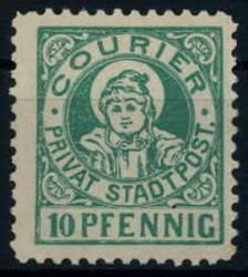 140: Deutsches Reich Stadtpost