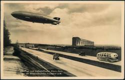985014: Zeppelin, Zeppelin Postkarten, Deutschland