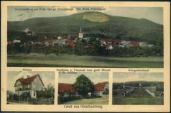 116110: Deutschland Ost, Plz Gebiet O-61, 611 Hidburghausen - Postkarten