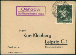 112000: Deutschland Ost, Plz Gebiet O-20, 200-202 Neubrandenburg