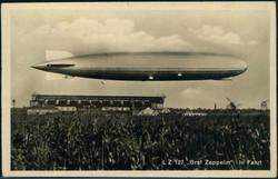 982510: Zeppelin, Zeppelinpost LZ 127, Deutschlandfahrten 1932