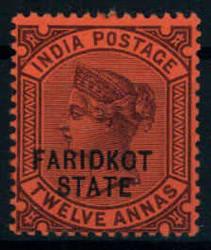 3130: Indien Staaten Faridkot