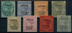 3195: Indien Staaten Nabah - Dienstmarken