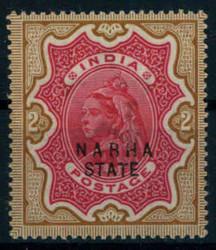 3195: Indien Staaten Nabah