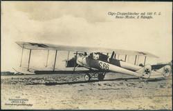 440610: Luftfahrt, Militärische Flugzeuge bis WK-I, Sanke- Postkarten