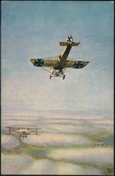 440630: Luftfahrt, Militärische Flugzeuge bis WK-I, Luftkampf
