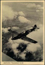 441010: Luftfahrt, Militärische Flugzeuge bis WK-II, Messerschmidt
