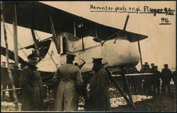 440642: Luftfahrt, Militärische Flugzeuge bis WK-I, Britische Flugzeuge