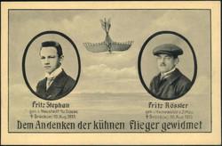 443040: Luftfahrt, Kampfflieger WK-I, Deutsche Fliegerhelden