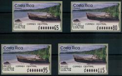 2320: Costa Rica - Automatenmarken