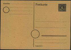 1370020: SBZ Mecklenburg Vorpommern - Ganzsachen