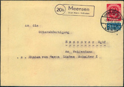 103510: Germany West, Zip Code W-34, 351 Hann. Münden