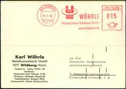 107270: Deutschland West, Plz Gebiet W-72, 727 Nagold