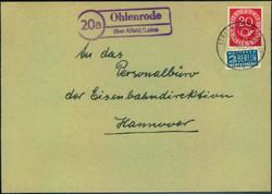 103220: Deutschland West, Plz Gebiet W-32, 322 Alfeld- Leine