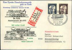 106340: Deutschland West, Plz Gebiet W-63, 634 Dillenburg