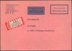 106700: Deutschland West, Plz Gebiet W-67, 670 Ludwigshafen am Rhein