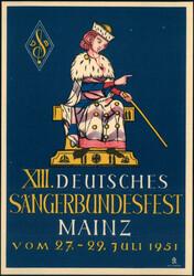 106500: Deutschland West, Plz Gebiet W-65, 650 Mainz