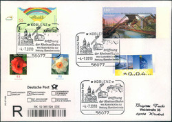 105400: Germany West, Zip Code W-53, 540 Koblenz
