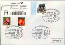 107060: Deutschland West, Plz Gebiet W-70, 706 Schorndorf- Würt.