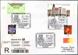 114600: Deutschland Ost, Plz Gebiet O-46, 460 Wittenberg- Lutherstadt