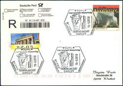 116000: Deutschland Ost, Plz Gebiet O-60, 600-602 Suhl Ort