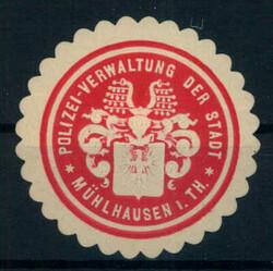 115700: Deutschland Ost, Plz Gebiet O-57, 570 Mühlhausen
