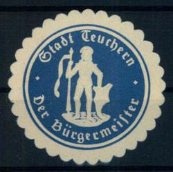 114850: Deutschland Ost, Plz Gebiet O-48, 485-486 Weißenfels