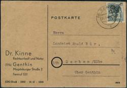 1370100: SBZ Handstempel Bezirk 20