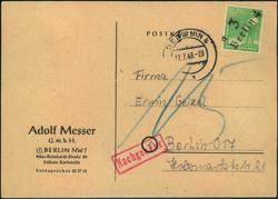 1370070: SBZ Handstempel Bezirk 3