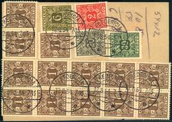 2355: Dänemark - Portomarken