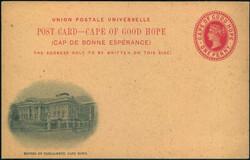 3855: Cape of Good Hope - Postal stationery