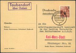 117560: Deutschland Ost, Plz Gebiet O-75, 756 Wilhelm-Pieck-Stadt