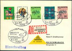 107030: Deutschland West, Plz Gebiet W-70, 703- 704 Böblingen