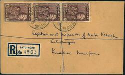 3665: Japan Besetzung II. WK Malaya Selangor