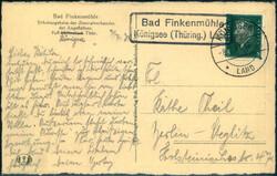 116820: Deutschland Ost, Plz Gebiet O-68, 682 Rudolstadt