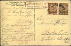 116540: Deutschland Ost, Plz Gebiet O-65, 654 Stadtroda