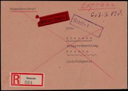 1291: Gebühr bezahlt, Belege 45-48, Notmaßnahmen
