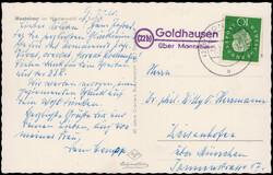 105430: Germany West, Zip Code W-54, 543 Montabaur