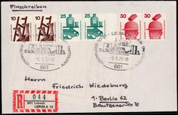 106610: Germany West, Zip Code W-65, 661 Lebach