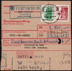 116400: Germany East, Zip Code O-64, 640-641 Sonneberg
