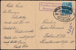 111200: Germany East, Zip Code O-12, 120 Frankfurt