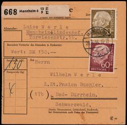 106800: Germany West, Zip Code W-67, 680 Mannheim