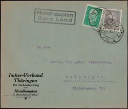116500: Germany East, Zip Code O-65, 650 Gera