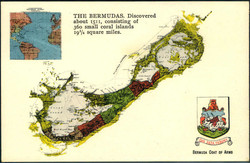 1880: Bermuda - Postkarten