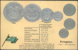 6600: Uruguay - Postkarten