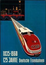 861520: Fahrzeuge, Eisenbahn, Werbung