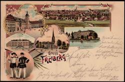 119200: Deutschland Ost, Plz Gebiet O-92, 920-923 Freiberg